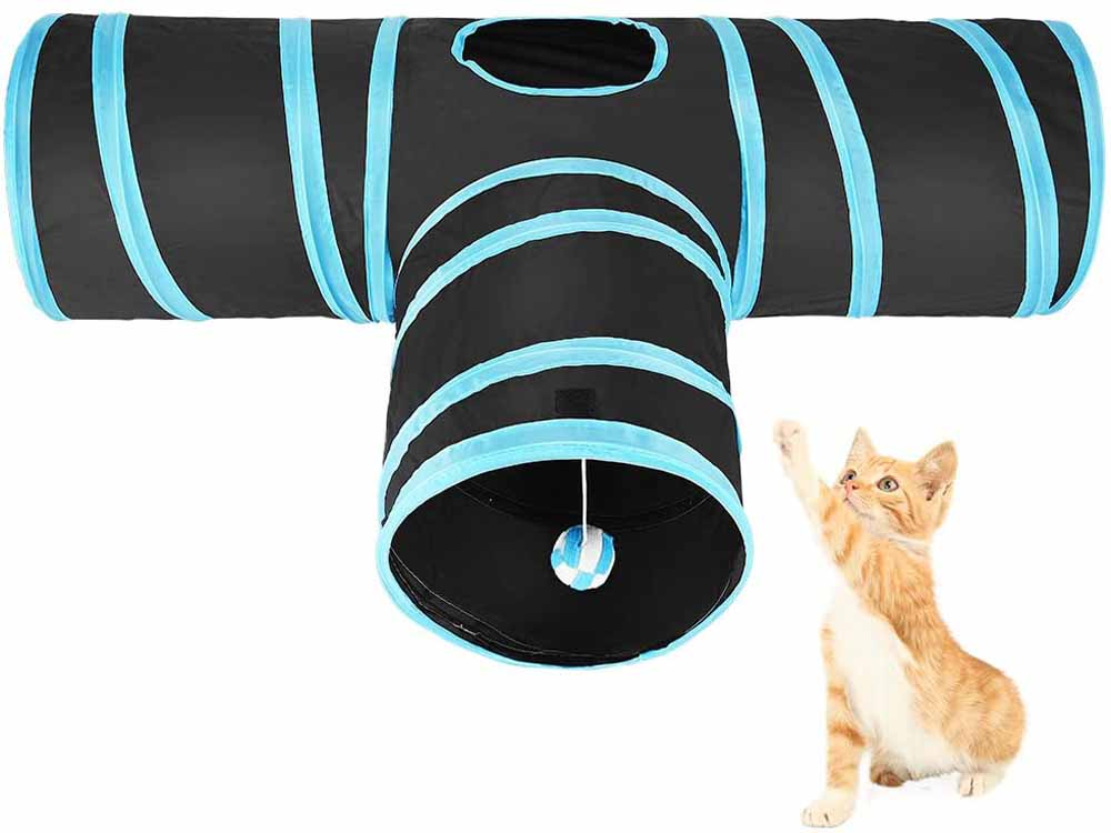 Túnel para gatos ASIV A01437