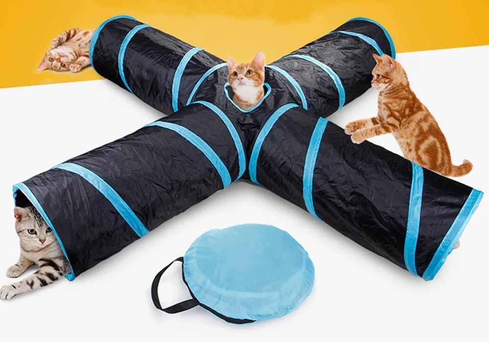 Túnel para gatos Beststar 4 vías