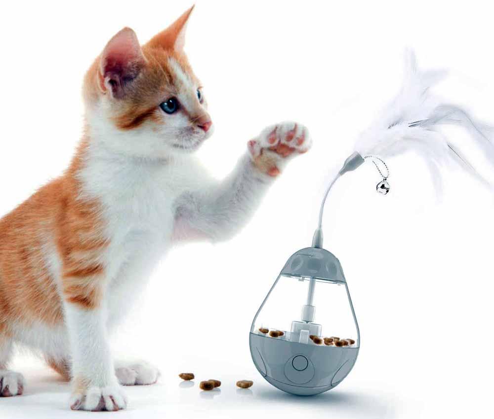 Juguete interactivo para gatos DADYPET Bola