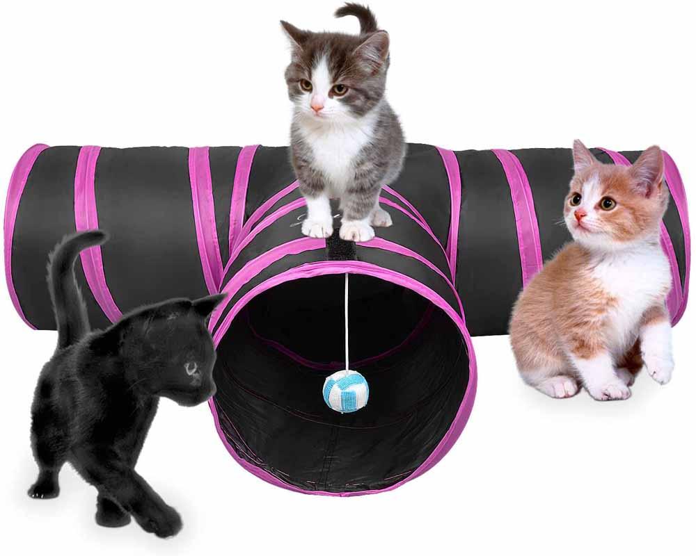 Túnel para gatos Lauva MTD001
