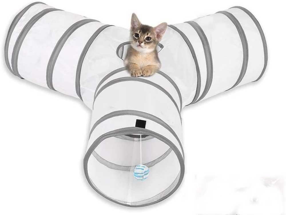 Túnel para gatos MFEI 3 Vías