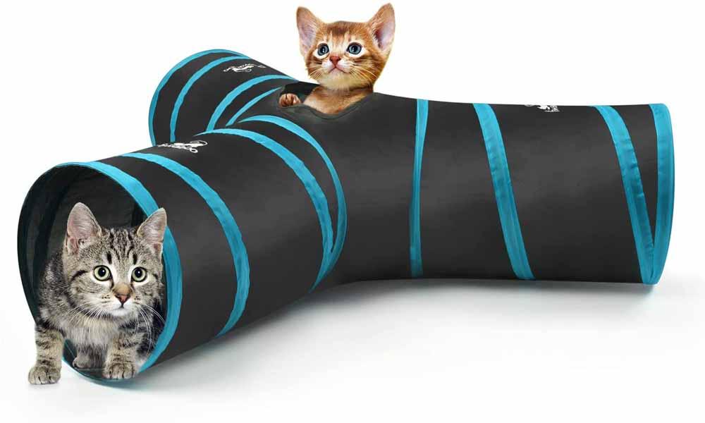 Túnel para gatos Pawaboo 3 Vías