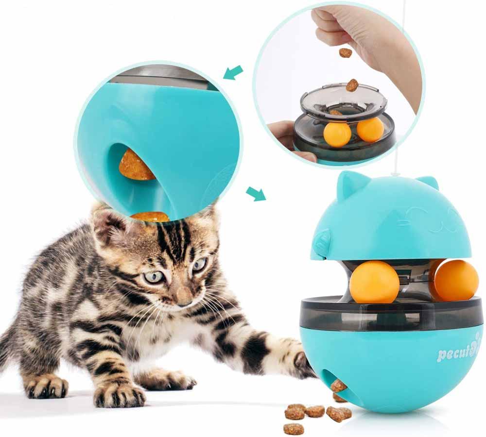 Juguete interactivo para gatos Pecute Bolas