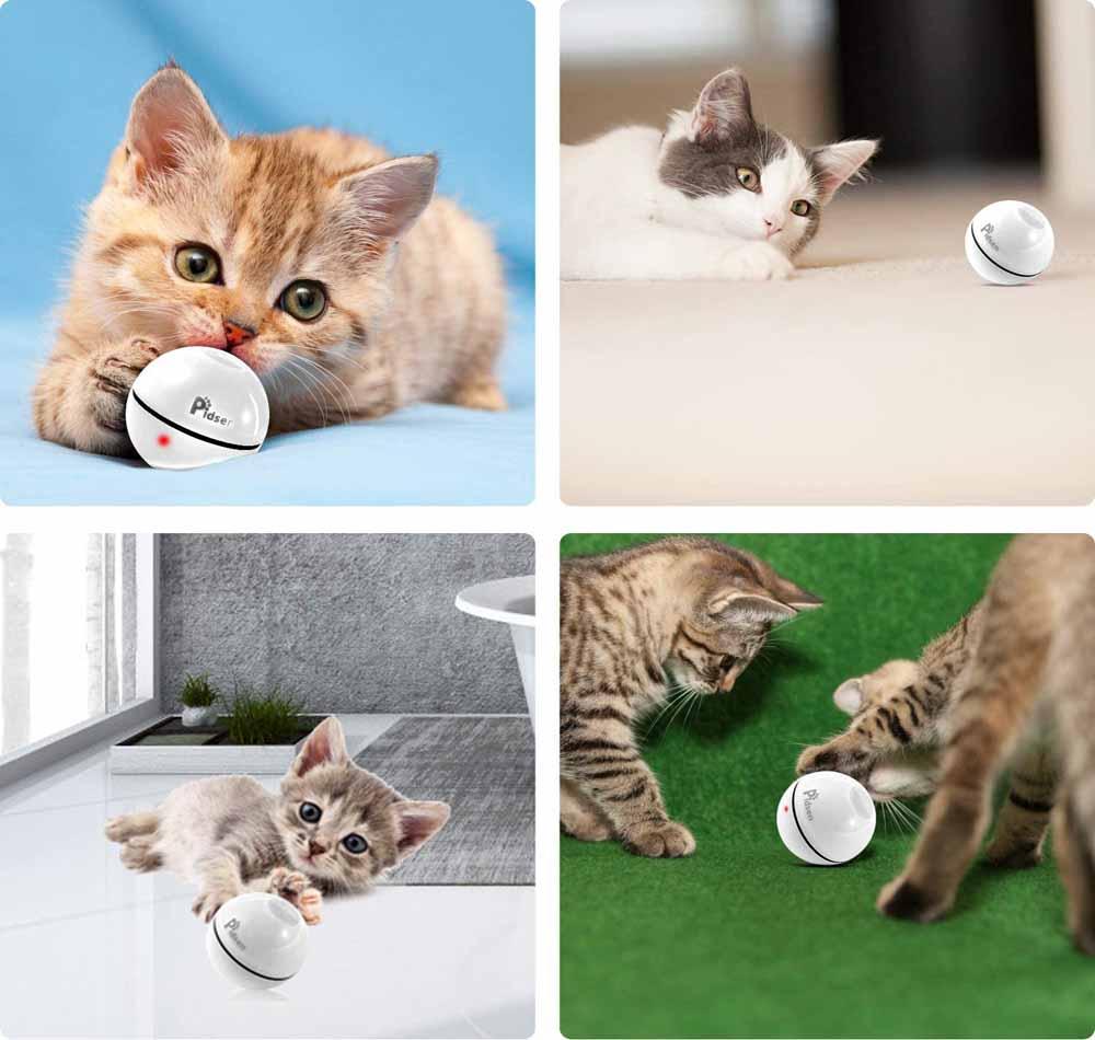 Juguete interactivo para gatos Pidsen Bola