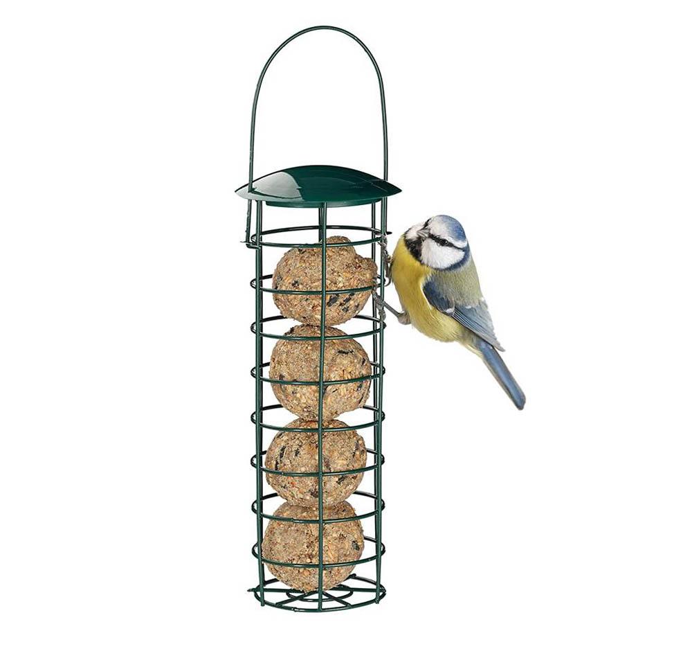 Comedero para pájaros Relaxdays Bolas