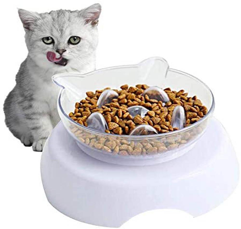 Comedero para gatos Toulifly