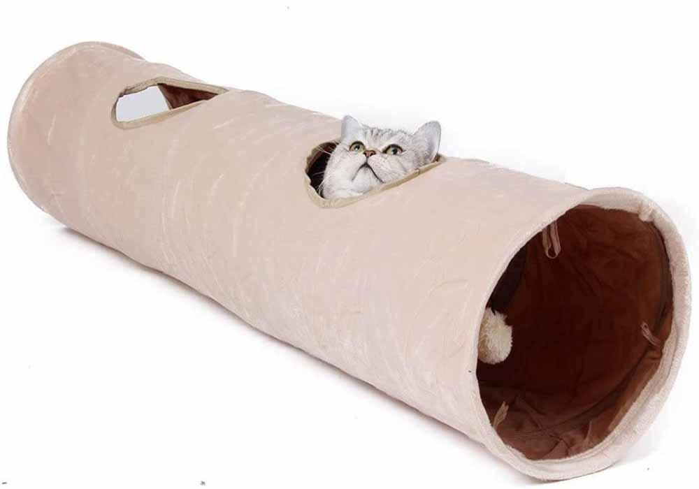 Túnel para gatos ZX Dos Agujeros